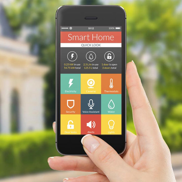 Five ways smart technology can improve your home