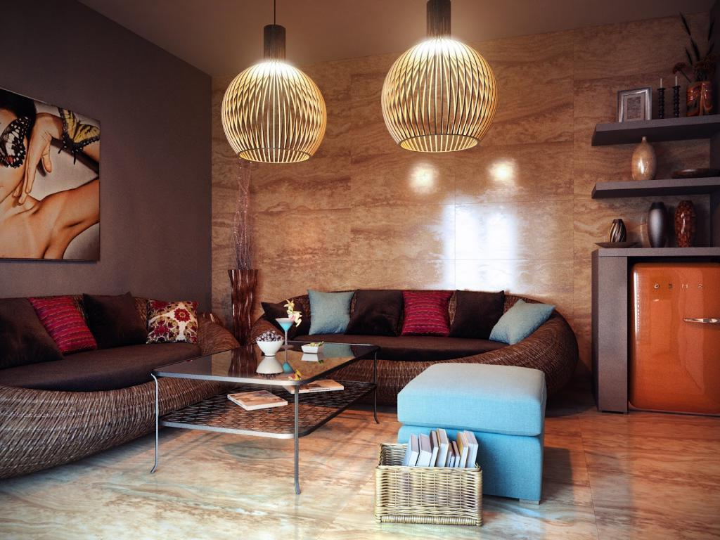 hanging lights for living room 9 damage free ways to add a personal touch to a rental 19005